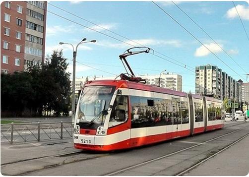 Трамвайная сеть в Красногвардейском р-не Спб